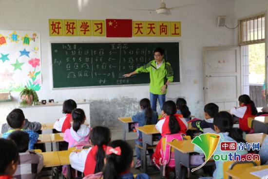 武汉小学研支团送课推动下乡发展a小学教育理工湛江市十八图片