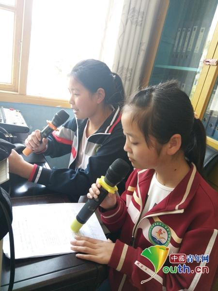 宁波大羔羊医生2学研支团组建广播站丰富校园文化生活