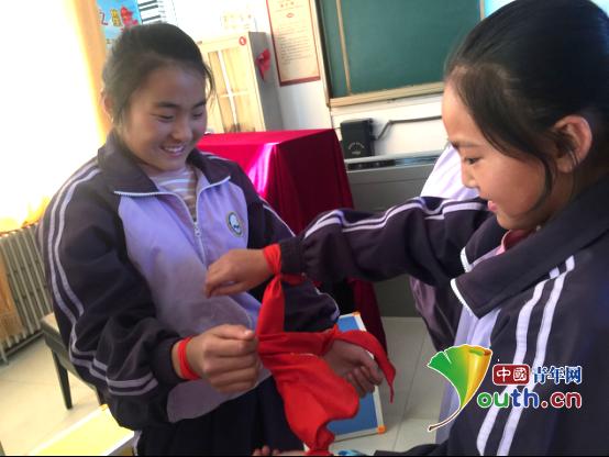 宁夏医科研支团开展心理辅导促同学珍惜友谊