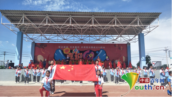 南林研支团助力农场学校文艺汇演共享节日欢乐