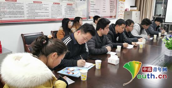 """石泉县项目办勉励志愿者为建设""""三宜""""石泉献力"""