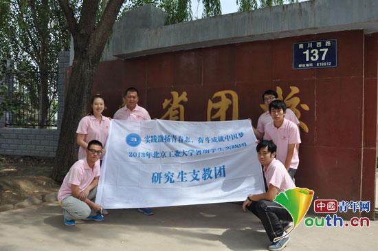 北京工业大学首届研究生支教团成员简介