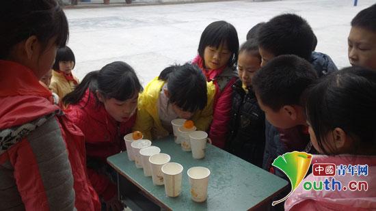 浙江理工大学研究生支教团在永和镇小学开展