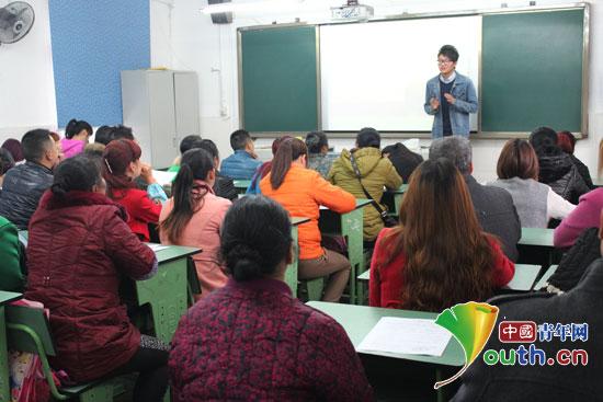 浙江理工大学研究生支教团志愿者组织召开了所在班