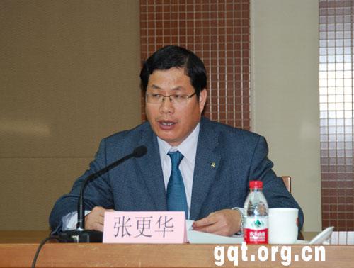 部行政政法司副司长张更华在2011年大学生志