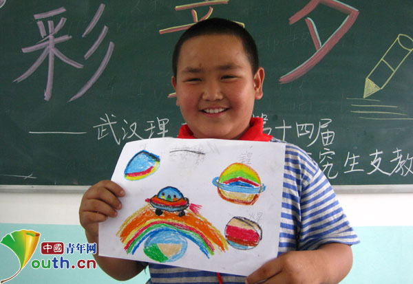 武汉理工大:开启孩子七彩梦想绘出快乐童年图片