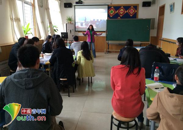 北林大第十六届支教团赴北林女生打赌了输学艺附小图片