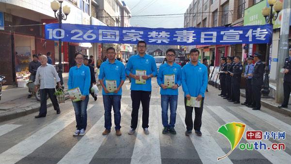 南京工业大学第二届研究生支教团成员代表宁洱团县委