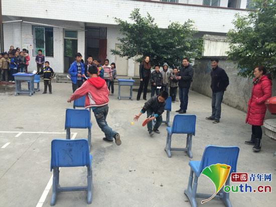 浙江理工大学研究生支教团在金口