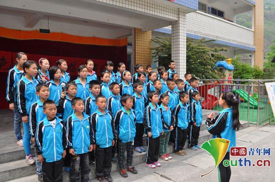 浙江理工大学研究生支教团在鲤鱼浩小学举办艺术节