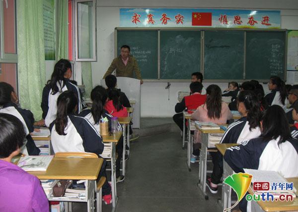 队7名成员抵达伊宁县二中后迅速投入教学工作-山东大学支教团 新学图片