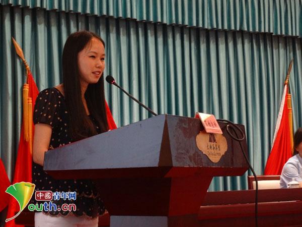 浙江理工支教团参加百姓宣讲弘扬青春正能量