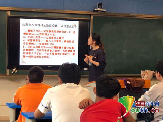 南航研支團開展禁毒宣傳進校園志愿服務活動
